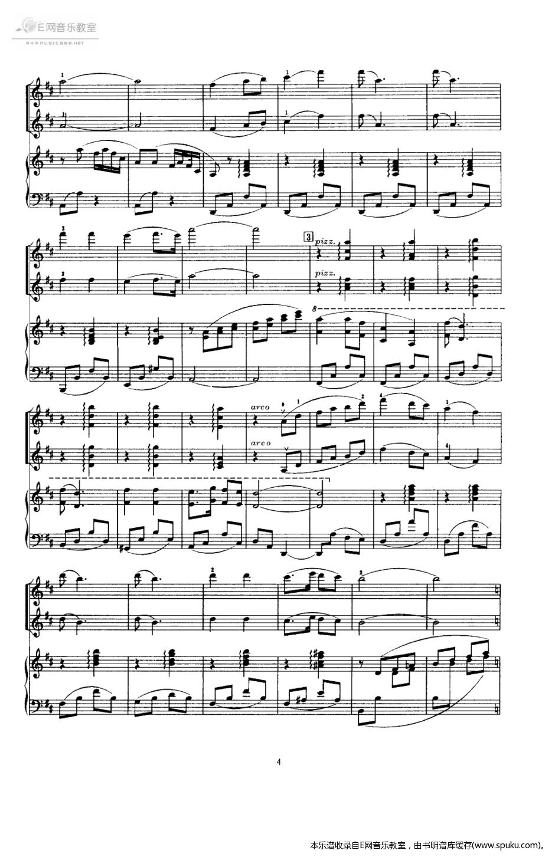 快乐的女战士4-钢琴谱-曲谱